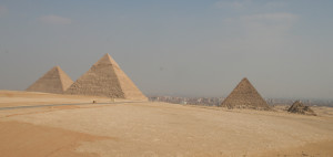 Giza Plateau. Photo: Schroeder, 2012