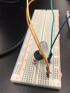 breadboard for Arduino circuit