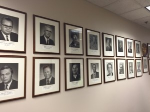 Portraits of Arizona Court of Appeals Judges at the Courthouse