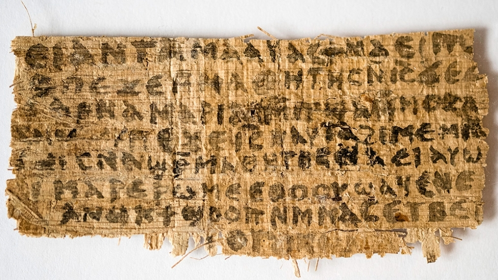 Gospel of Jesus's Wife?