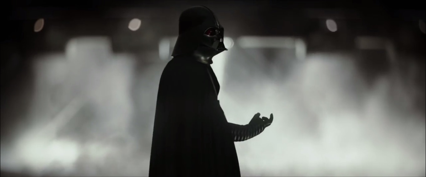Darth Vader still from Rogue One, via IMDB at http://www.imdb.com/title/tt3748528/mediaviewer/rm2380137472